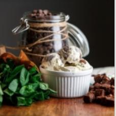 Мятное с шоколадом - мороженное