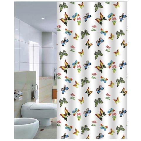 Butterflies Штора для ванной