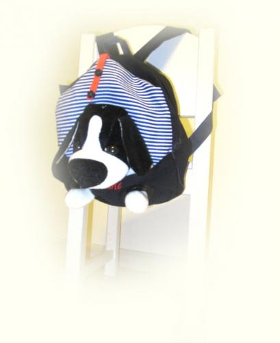Рюкзак с собачкой.