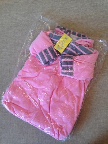 Полукомбинезон-конверт Кр0ха.Розовый.