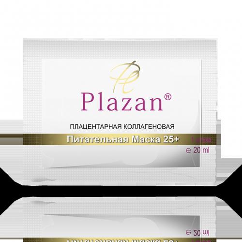 Плацентарная коллагеновая питательная маска 25+