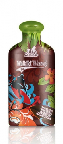 Hawaiiana Waikiki Wave Golden Coconut Dark Tanning Oil (200мл)