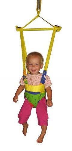Прыгунки - качели - тарзанка игрушка-тренажёр