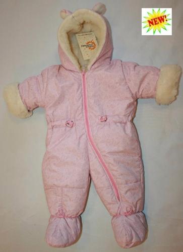 1018 комбинезон Кроха розовые игрушки