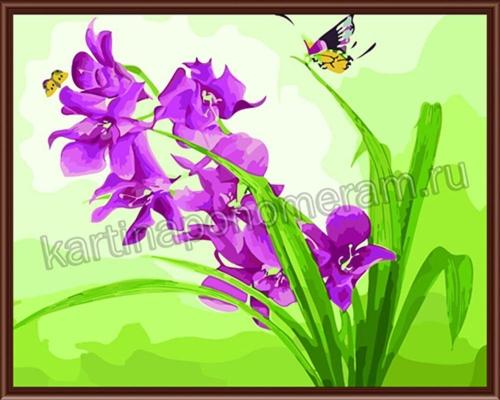 Полет к цветку