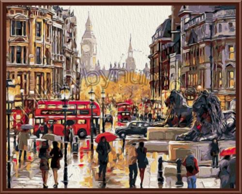 Лондон,Трафальгарская площадь (поступление к 23 сентября)