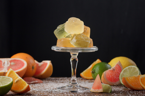 ХИТ!  Мармелад желейный: Ассорти цитрусовый (апельсин, грейпфрут, лайм, лимон)