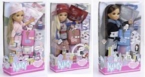 Кукла Нэнси «Путешественница» (Париж, Лондон, Нью-Йорк)