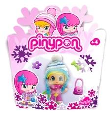 Кукла Пинипон в зимней одежде в блистере в ассорт.