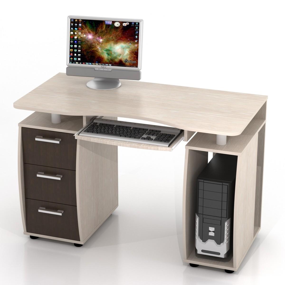 Простой компьютерный стол фото делается