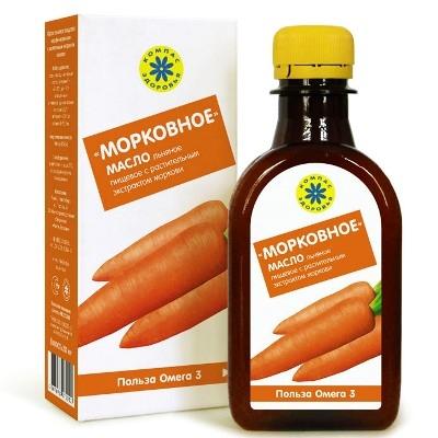 Масло льняное Морковное