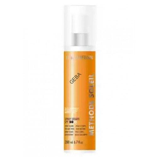LA BIOSTHETIQUE SkinCare MSol  Anti-age эмульсия-спрей водост. солнцезащ. для лица и тела с высокоэф. системой фильтров SPF 20 Spray Solaire Anti-age