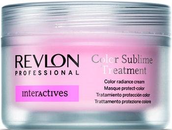 Revlon INTERACTIVE Color Sublime Treatment Крем для придания блеска окр. волосам