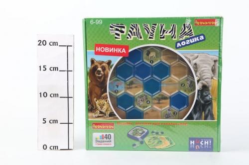 Логическая игра Bondibon, Фауна, ВОХ 240х240х55мм, арт.877 086-2.
