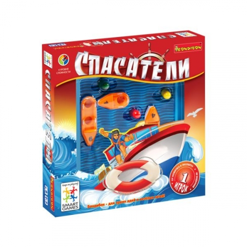 Логическая игра Bondibon Спасатели, арт.SG 510 RE  RU