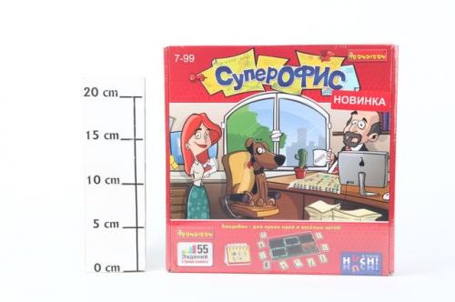 Логическая игра Bondibon, Супер Офис, ВОХ 240х240х55мм, арт.877 819.