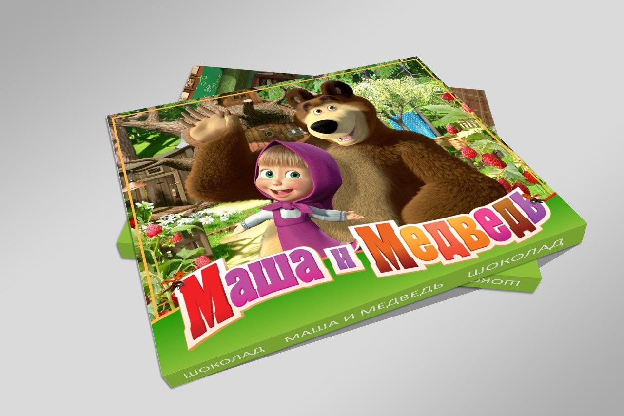 маша и медведь шоколад картинка постановщика