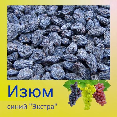 Изюм синий