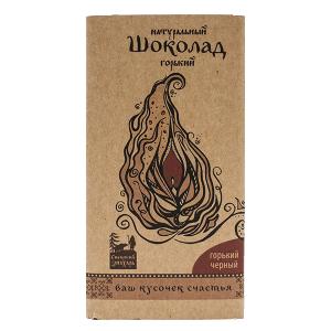 Шоколад натуральный, ГОРЬКИЙ ЧЕРНЫЙ, 100 гр