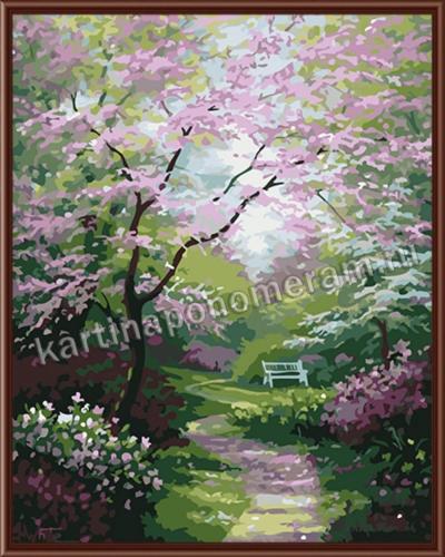 Тропинка в цветущий сад