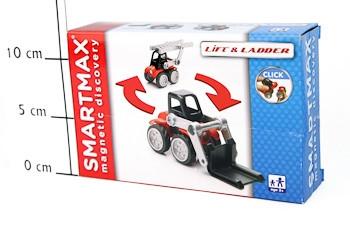 Магнитный конструктор SmartMax/ Bondibon Специальный (Special) набор: Спецтехника, арт.113.