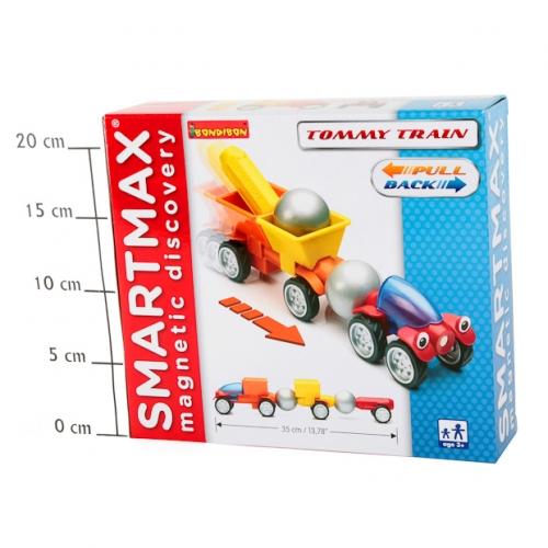 Магнитный конструктор SmartMax/ Bondibon Специальный (Special) набор инерц.:Трейлер Томми, арт.209.