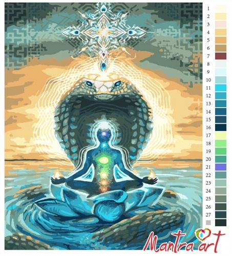 Творение Картины-раскраски по номерам 40х50