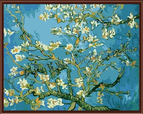 Цветущий миндаль. Ван Гог