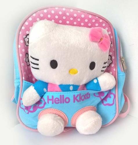 Рюкзак Hello Kitty роз-голуб