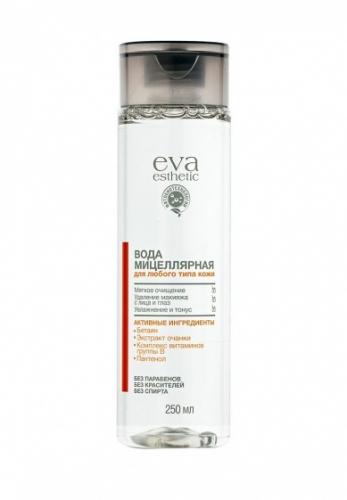 EVA/Уход/9061/Мицеллярная вода д/любого типа кожи, 250 мл