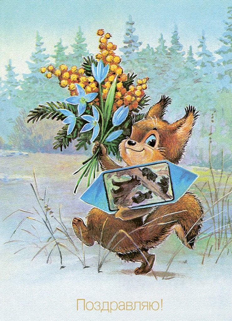Прости меня, советские открытки белка