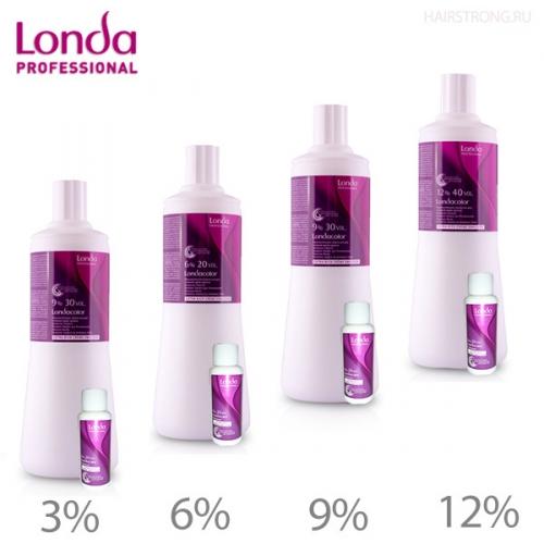 9% Окислительные эмульсии для стойкой крем-краски 1000  мл