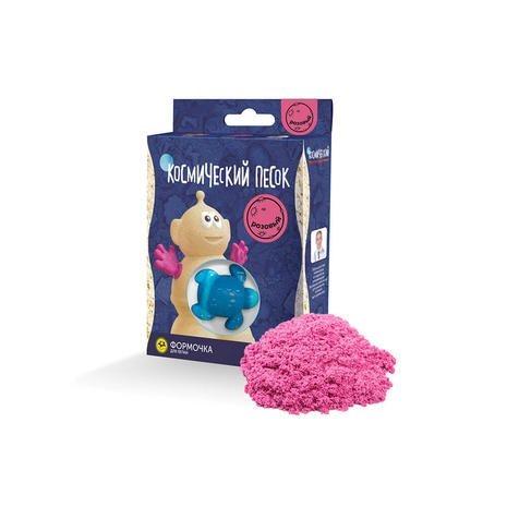 Космический песок 150 гр. Цвет - розовый