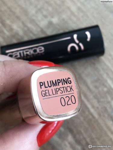 CATRICE/Помада д/губ Power Plumping Gel Lipstick 020/904953/
