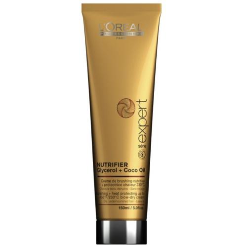 Nutrifier Blow Dry Лореаль Нутрифаер - Питательный термозащитный крем для сухих и ломких волос 150 мл