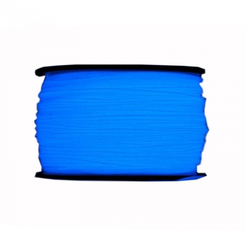 Пластик для 3D принтеров и 3D ручек Unid. ABS, 800 гр, цвет светящийся голубой ABS1FB