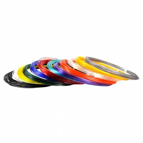 Набор пластика для 3D ручек Unid PRO, 10 м, 12 цветов PRO12