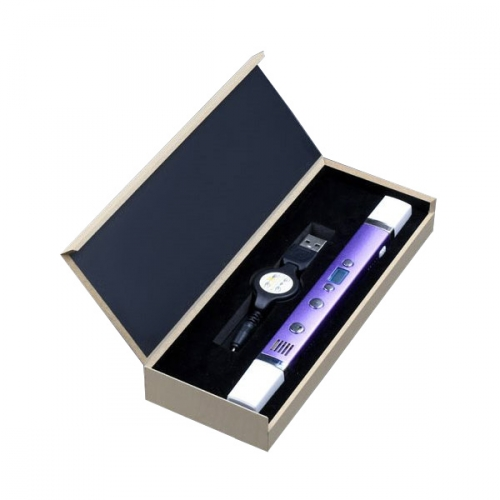 3D ручка Myriwell-3 RP100С с дисплеем, цвет фиолетовый металлик RP100CF