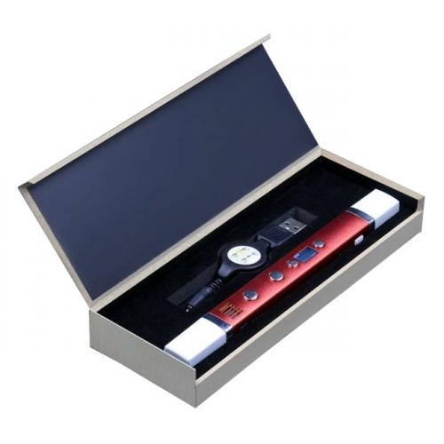 3D ручка Myriwell-3 RP100С с дисплеем, цвет красный металлик RP100CR