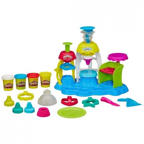Набор пластилина Play-Doh Фабрика пирожныхк A0318