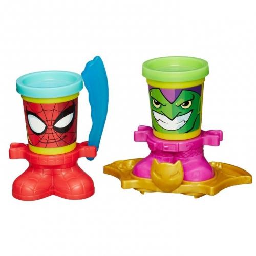 Набор пластилина Play-Doh Герои Марвел в ассортименте B0594