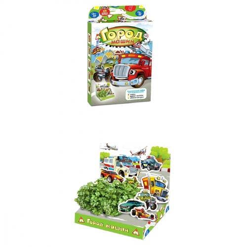 Детский развивающий набор для выращивания Город машин hps-233