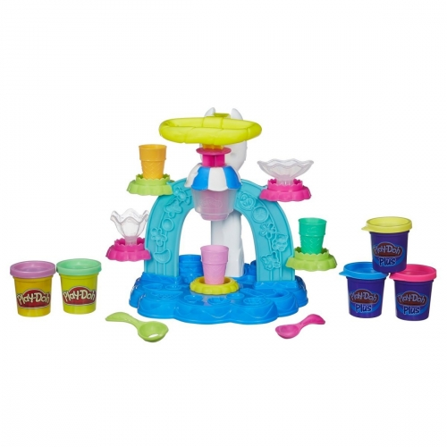 Набор пластилина Play-Doh Фабрика мороженого B0306