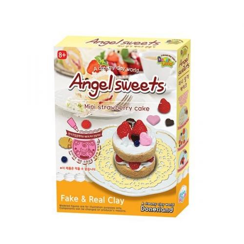 Набор для лепки Mini Strawberry cake AS10013