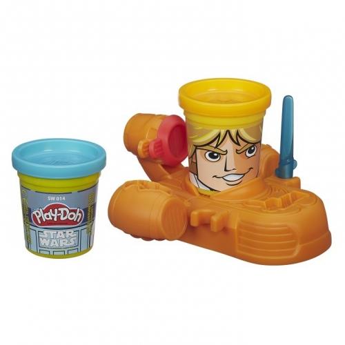 Набор пластилина Play-Doh Герои Звездных войн в ассортименте B0595