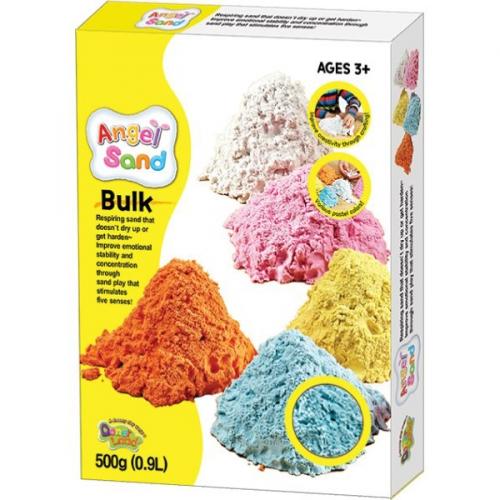 Песок для творчества Angel Sand, 900г, цвет голубой MA07015