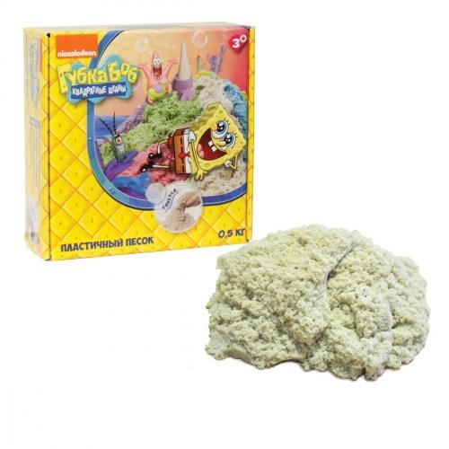 Набор для творчества Космический песок. Губка Боб, цвет классический, 500 гр Т58366