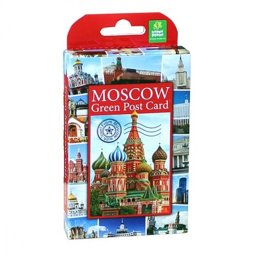 Подарочный набор для выращивания Живая открытка Москва №2 hps-225