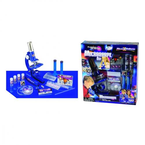 Набор для исследований Микроскоп, 50 предметов 2131