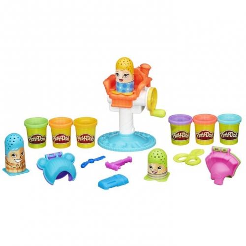 Набор пластилина Play-Doh Сумасшедшие прически B1155